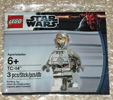 "Star Wars Lego Mini Figura Tc-14 Protocol Droid ""Bnip"" Nuevo Sellado - 5000063"