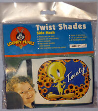 "LOONEY TUNES ""Tweety"" POP UP  SUN SHADE Pack of 2 including UK P&P"