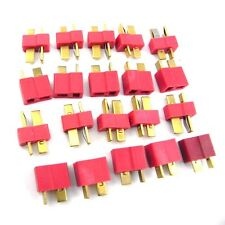 NEW 10 pairs T Plug Male Female Connector Deans Lipo Battery ESC RC Helicopter U