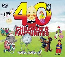 40 CHILDREN'S FAVOURITES  (NEW SEALED 2CD)