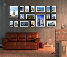 New 17Pcs Creative Combination Frame European Wall Photo Art Home Decor Set