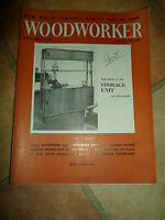 WOODWORKER September 1959 ~ Retro Vintage Illustrated Magazine + Advertising