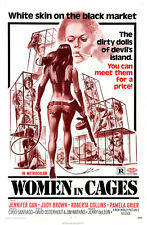24X36Inch Art WOMEN IN CAGES Movie Poster Exploitation XXX Sex P01