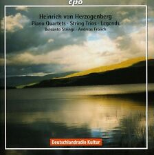 Pno Qrts/Str Trios/Legends - H (2009, CD NEUF) Frolich/Belcanto Strings2 DISC SE
