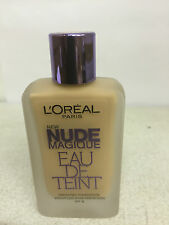 L'Oreal Paris Nude Magique Eau De Teint Foundation 100 Porcelain