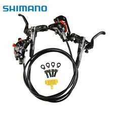 NEW 2017 Shimano Deore XT M8000 MTB Disc Brakes Hydraulic Front & Rear Set Black