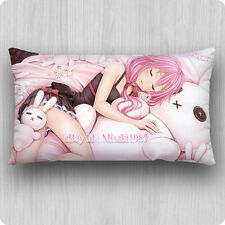 Guilty Crown Dakimakura Inori Yuzuriha Anime Hugging Pillow Case Cover Cushion