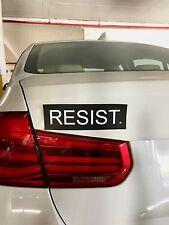 RESIST STICKER - RESIST CAR MAGNETIC - ANTI TRUMP CAR MAGNETIC - NO BORDERS
