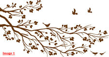 'Large Tree Branch & Birds Art Vinyl Wall Stickers Wall Decal Decor HIGH QUALITY