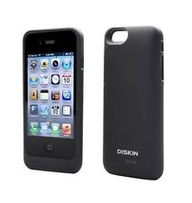 Diskin Premium Charger Case Iphone 6 & Iphone 6S Black Battery Case