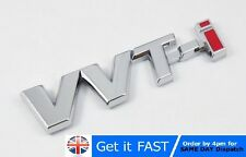 VVT-i Toyota Chrome Badge Emblem Logo Sticker Corolla Yaris Avensis TS T2