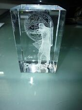 Lord of the Rings Legolas LOTR Elf Crystal Glass Laser MIB Clarisso Cube 3D