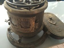 MONITOR Antique Oil Stove Vintage. Pat. 1875 & 1881