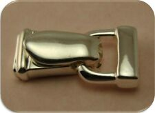 Clasp Magnetic Foldover~Silver Plated Metal~Jewelry Finding 2 Hole Bead QTY 1