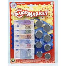 Monnaie pièces et billets pour faire la marchande ou spéculer .. Euromarket [633