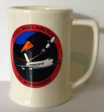 Sanders USA Coffee Mug Military Fixed Wing Aircraft IRCM Infrared Countermeasure