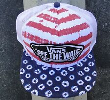 Vans Beach Red Trucker Girl Unisex Skate Snapback Hat