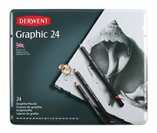 Derwent Graphic 24 Pencil Tin