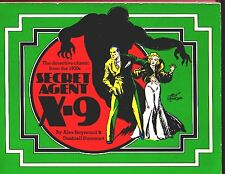 SECRET AGENT X-9 (Alex Raymond & Dashiell Hammett/1st US/PBO/hardboiled 1930s)