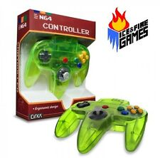 EXTREME GREEN N64 Controller - New in Box (Nintendo 64) Classic Joypad Design