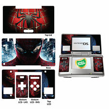 Autocollant Nintendo DS Spiderman Vinyle Peau Pour Véritable