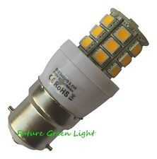 B22 24 SMD LED 240V 3.8W 350LM WARM WHITE DIMMABLE BULB ~50W