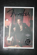 Fender Magazine 1st Collectors Edition includes 50th Anniversary Jaguar Guitar
