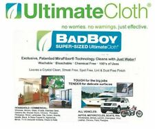 ULTIMATE CLOTH STREAK FREE BAD BOY 3 PACK safe all surface motorcycles RV