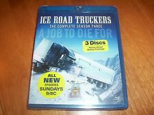ICE ROAD TRUCKERS The Complete Season Three 3 History Channel Series BLU-RAY NEW