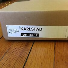 DISCONTINUED IKEA KARLSTAD Sofa Cover Slipcover | Sivik Dark Gray Incomplete