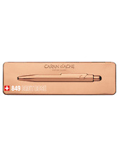 Caran d'Ache 849 Brut Rose Special Edition Ballpoint Pen - With Gift Box