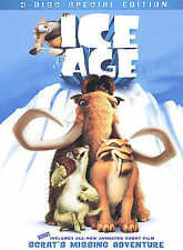 Ice Age (DVD, 2002 Widescreen) New & Sealed DVD