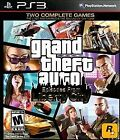 PLAYSTATION 3 GRAND THEFT AUTO EPISODES FROM LIBERTY CITY NEW GREATEST HITS