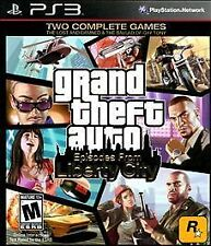 Grand Theft Auto Episodes From Liberty City GAME Sony Playstation 3 PS PS3