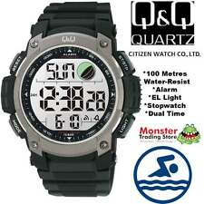 AUSSIE SELLER GENTS DIGITAL WATCH CITIZEN MADE M119J002 100M RP$99.95 WARRANTY