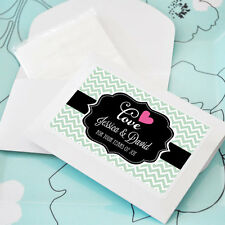 24 Tears of Joy Individual Personalized Tissue Packet Tissues Wedding Favors