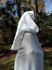 Gandalf big hood Cape any Color Wizard Hero Costumes Witch Mage Halloween