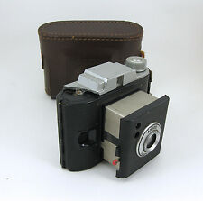Ansco N977 Flash Clipper Camera With Case - Made in USA - For Parts Only