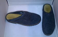 LAND'S END Men's Gray Clogs Mules Slippers Shoes Size 8 M US