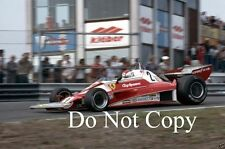 Clay Regazzoni Ferrari 312 T2 Dutch Grand Prix 1976 Photograph