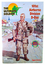 """ULTIMATE SOLDIER 12"""" 101st Airborne Division D-Day (1999, 21st Century Toys)"""