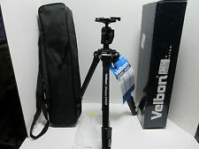 "Velbon Sherpa 5430D 61"" 4-Sec Tripod with-Ball Socket Head & Case - EXCELLENT"
