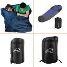 Mummy Sleeping Bag 5F/-15C Camping Hiking With Carrying Case HOT b2