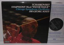 SXL 6814 Tchaikovsky Symphony No. 6 Chicago Symphony Orchestra Sir Georg Solti