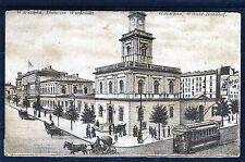 Ansichtskarte Warschau Wiener-Bahnhof - 00598