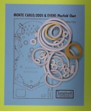 1973 Bally Monte Carlo or Odds & Evens rubber ring kit