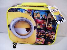 Despicable Me Minions Lunch Bag Box NEW