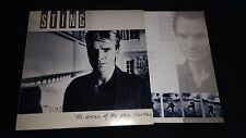 STING - The Dream Of The Blue Turtles - Vinyl LP *Inner Lyrics Sleeve* *DREAM 1*