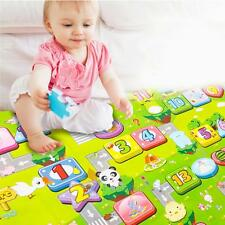 Large Size Baby Kids Toddler Crawl Play Game Letter Alphabet Mat Carpet Picnic A