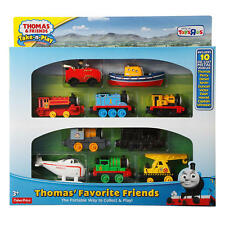 Thomas & Friends Take-n-Play Thomas' Favorite Friends 10 Die Cast Metal Toys NEW
